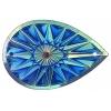 Celestial Sew-on Stone 10pcs Drop 20x30mm Royal Blue Aurora Borealis